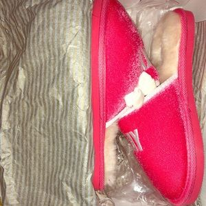 "Authentic Kate Spade ""Play Hooky"" Slippers"
